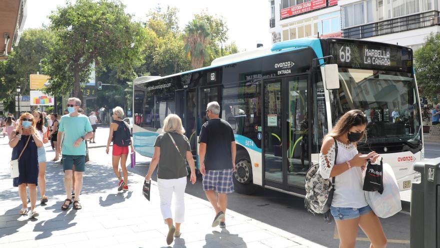 El autobús urbano de Marbella adapta sus horarios y expediciones de septiembre a junio