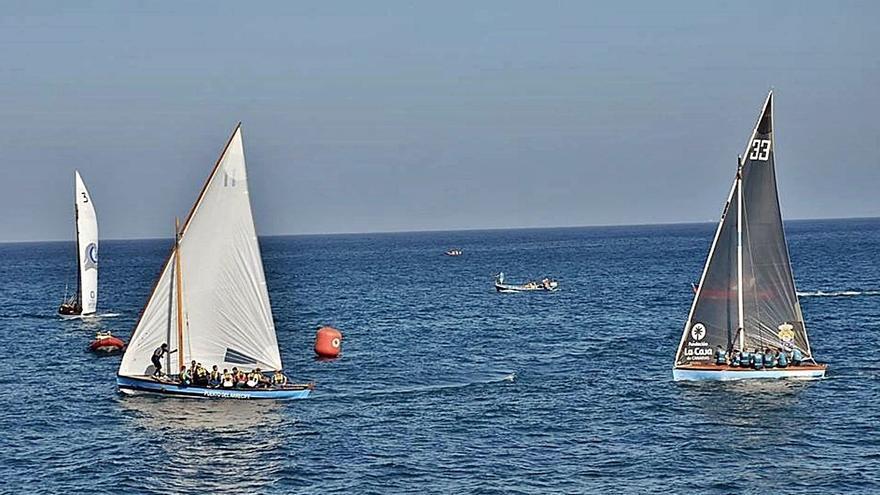 Botes y barquillos, juntos en el Campeonato de Canarias