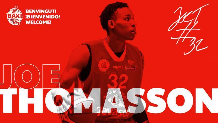 Joe Thomasson és el nou fitxatge del Baxi Manresa