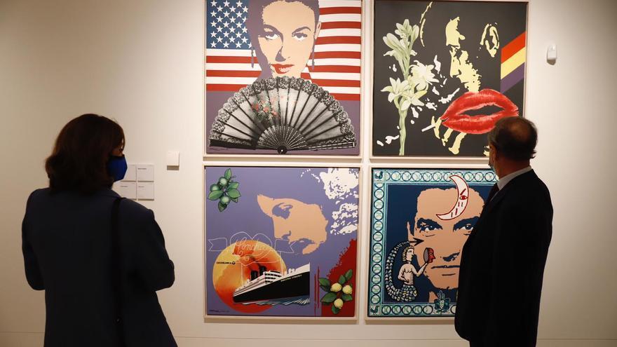 El legado de Chicano llega al Museo de Málaga