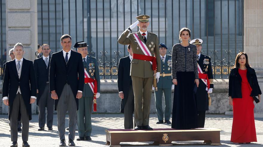 Felipe VI recibe a los últimos militares españoles de Afganistán