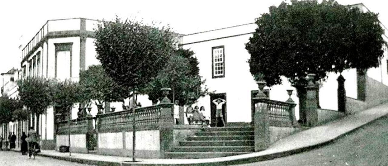 Estado en el que se encontraba la casa en el siglo XX.