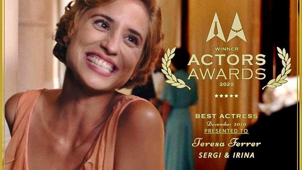 El corto 'Sergi & Irina' suma tres nuevos premios en Nueva York y Los Angeles