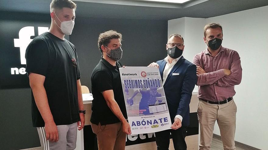 Finetwork  y el balonmano en Gijón: Un respaldo a lo Simeone