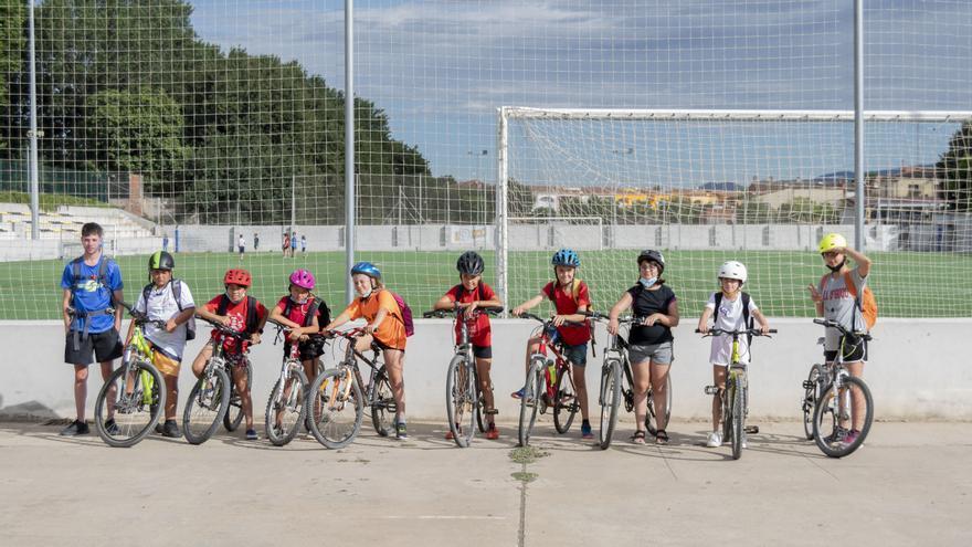 El casal multiesportiu estival de Castelló torna en plena forma