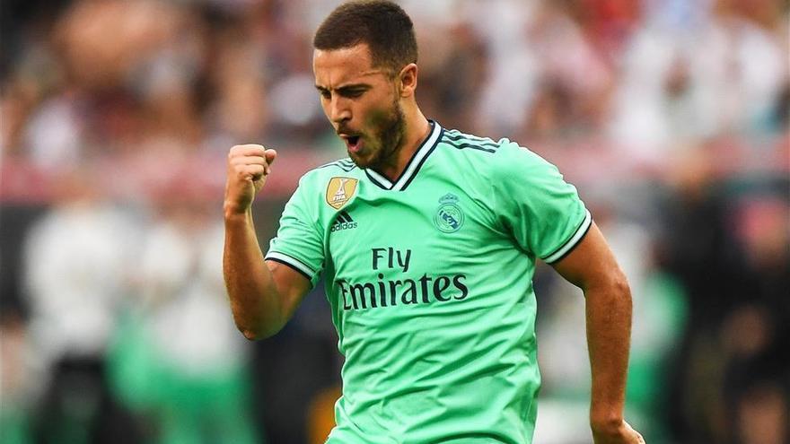 Hazard lidera una revolución parcial en el Real Madrid