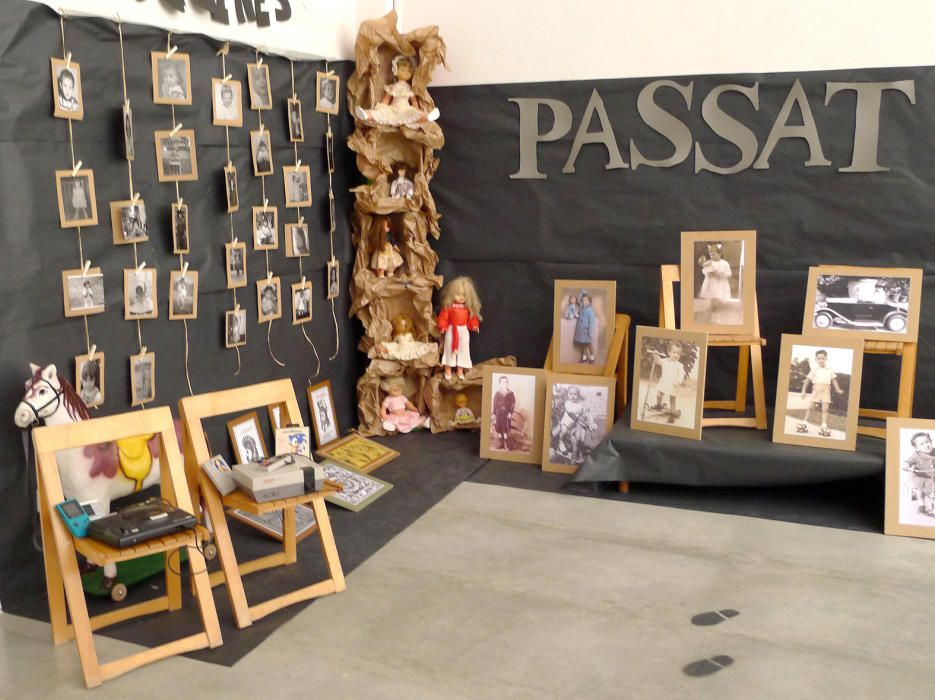 """El museu sobre el """"Pas del temps"""" de l'escola Pous i Pagès"""