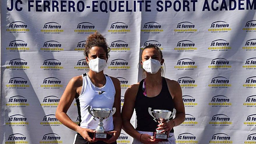 Alba Carrillo logra su noveno título de dobles en el circuito ITF