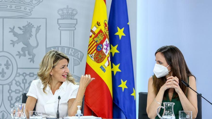 Yolanda Díaz y Ione Belarra: ¿qué papel juega cada una dentro de Podemos y Unidas Podemos?