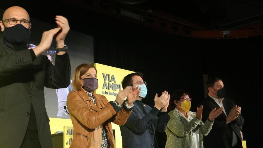 Junqueras, Bassa, Romeva i Forcadell no respondran la petició del Suprem sobre l'indult