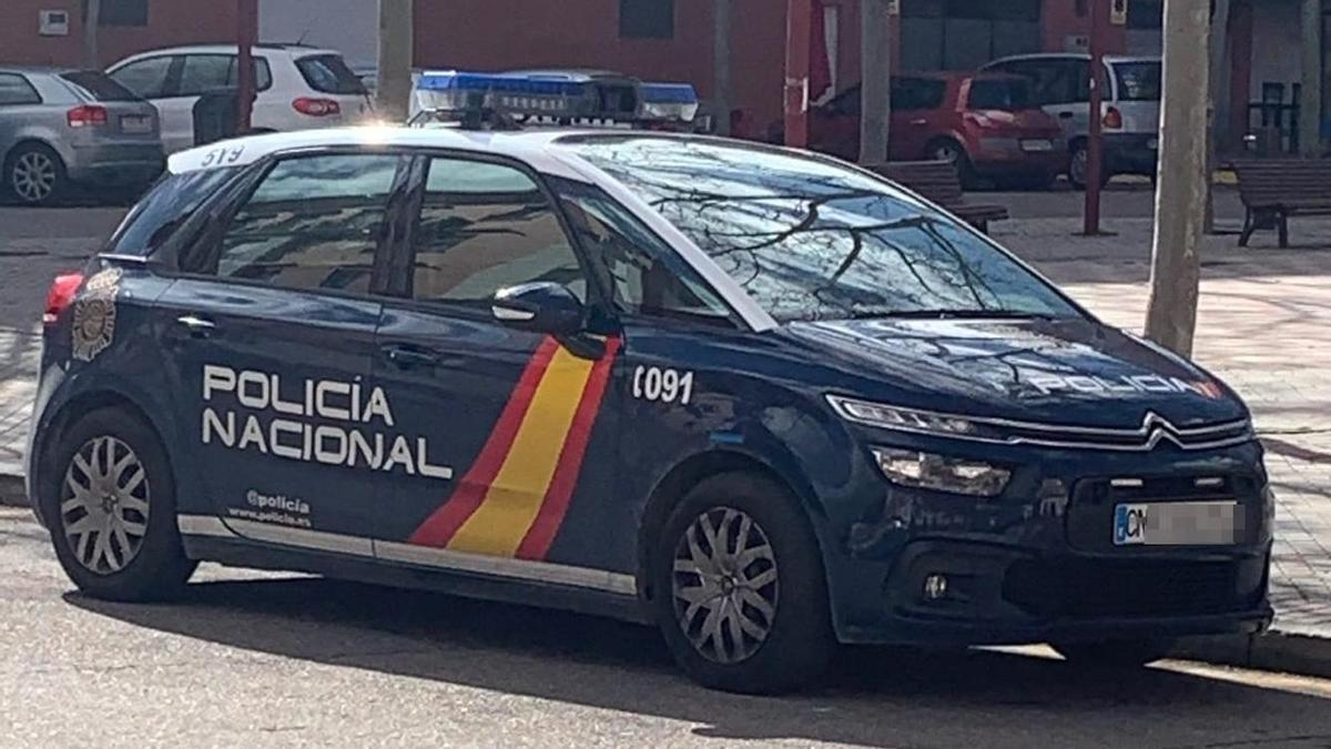 Una imagen de un vehículo de la Policía Nacional