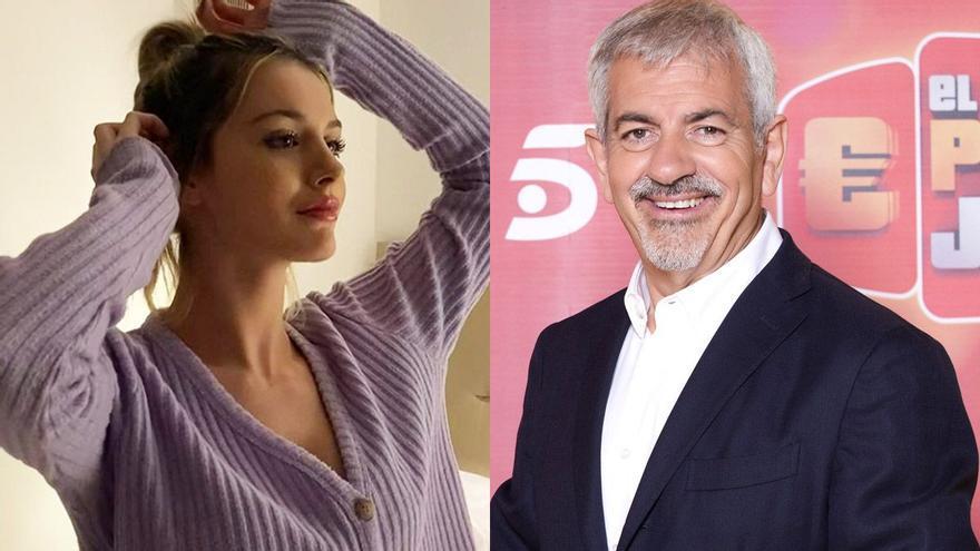 """Arianna, hijastra de Carlos Sobera, será una de las azafatas de 'El precio justo': """"Se come la pantalla"""""""