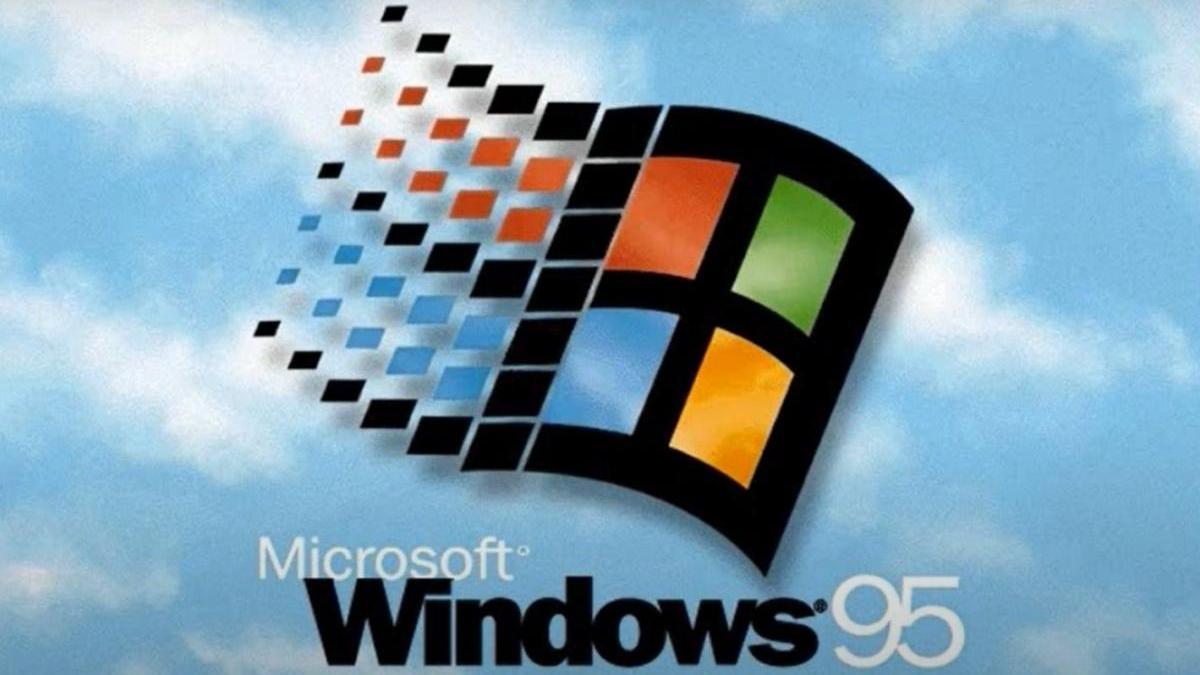 Windows 95 cumple 25 años.
