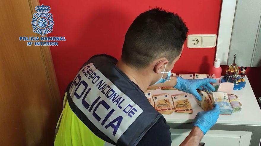Hasta 60 detenidos en una operación de la Policía Nacional contra el blanqueo de capitales del narcotráfico