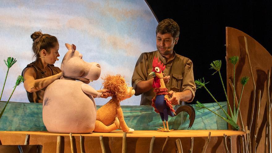 """El Pot Petit estrena divendres el disc de l'espectacle """"Les aventures del lleó vergonyós"""""""