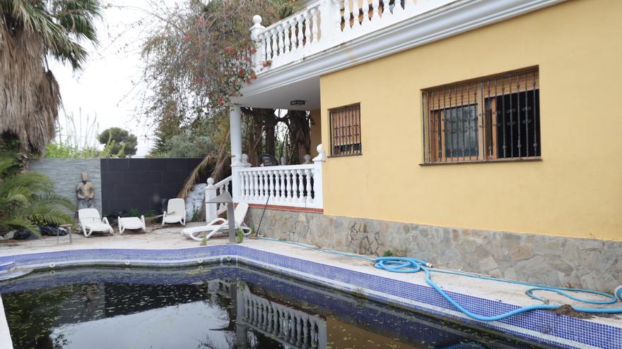 Un chalet de Castelló convertido en 'palacio de la droga'
