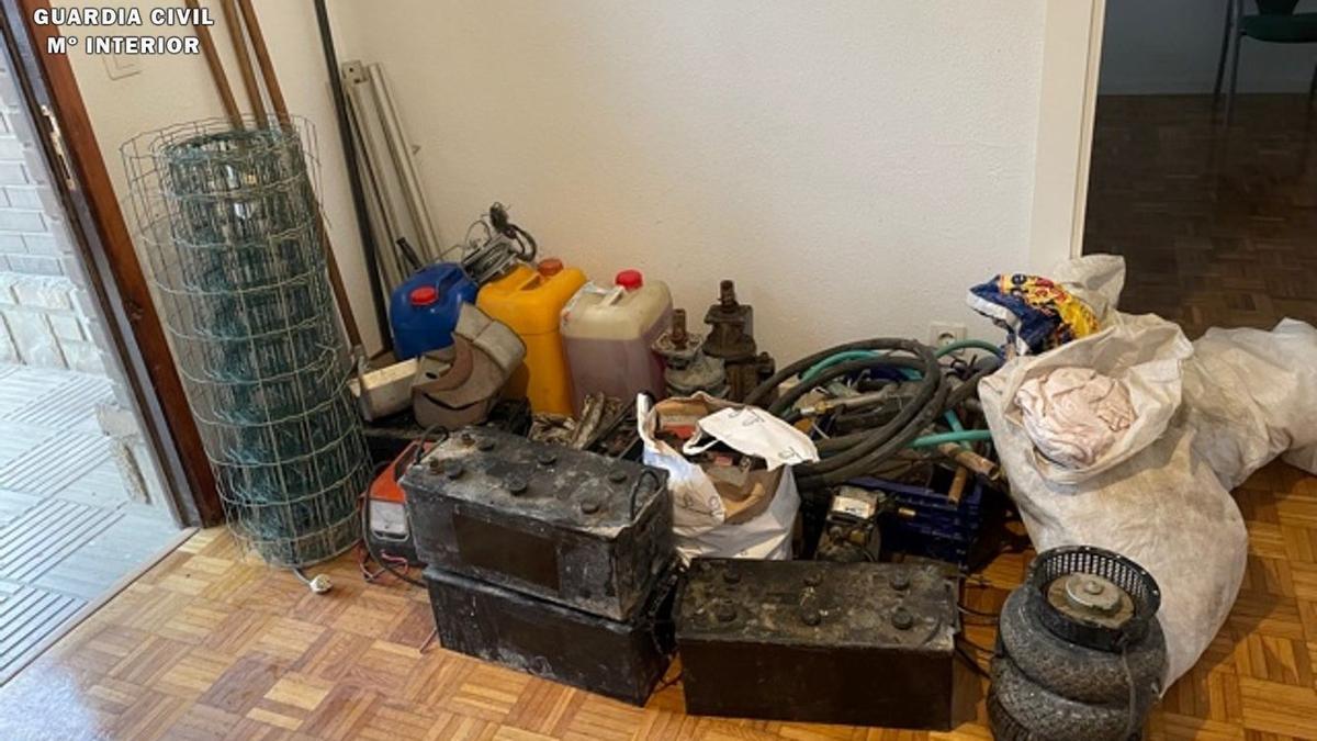 La Guardia Civil detiene a un hombre en Villamayor de Gállego por cuatro delitos de robo con fuerza en granjas agrícolas