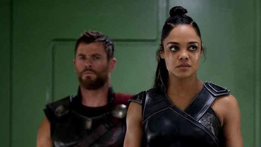 Primera imagen de Chris Hemsworth y Tessa Thompson en la nueva 'Men in Black'