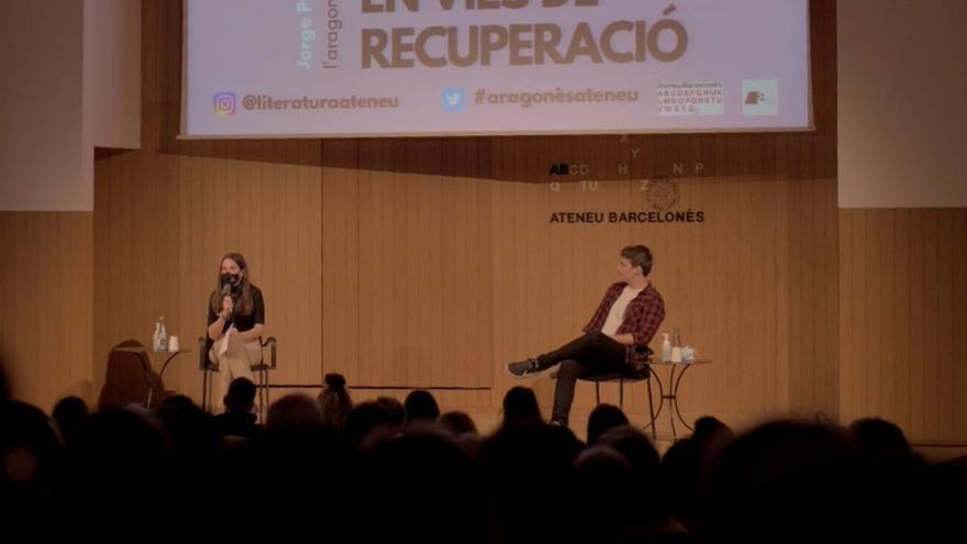 El aragonés se escucha por primera vez en el Ateneu Barcelonès de la mano de Jorge Pueyo