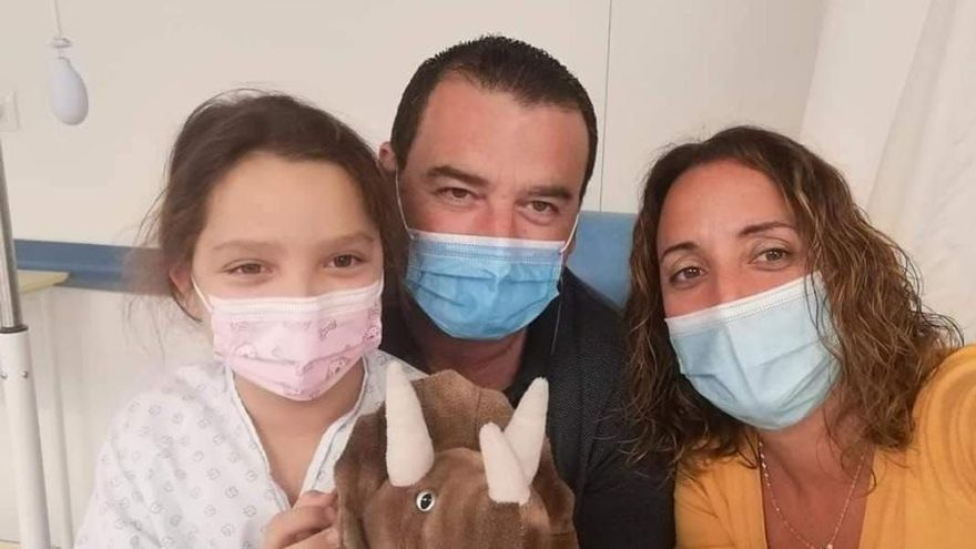 Paula, una luchadora de siete años en el Día Mundial de las Cardiopatías Congénitas