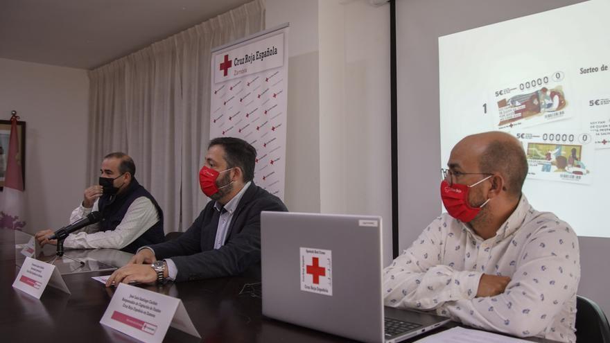 Cruz Roja espera vender en Zamora 150.000 euros del Sorteo del Oro