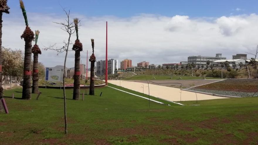 Culmina la IV fase del parque deportivo de La Ballena