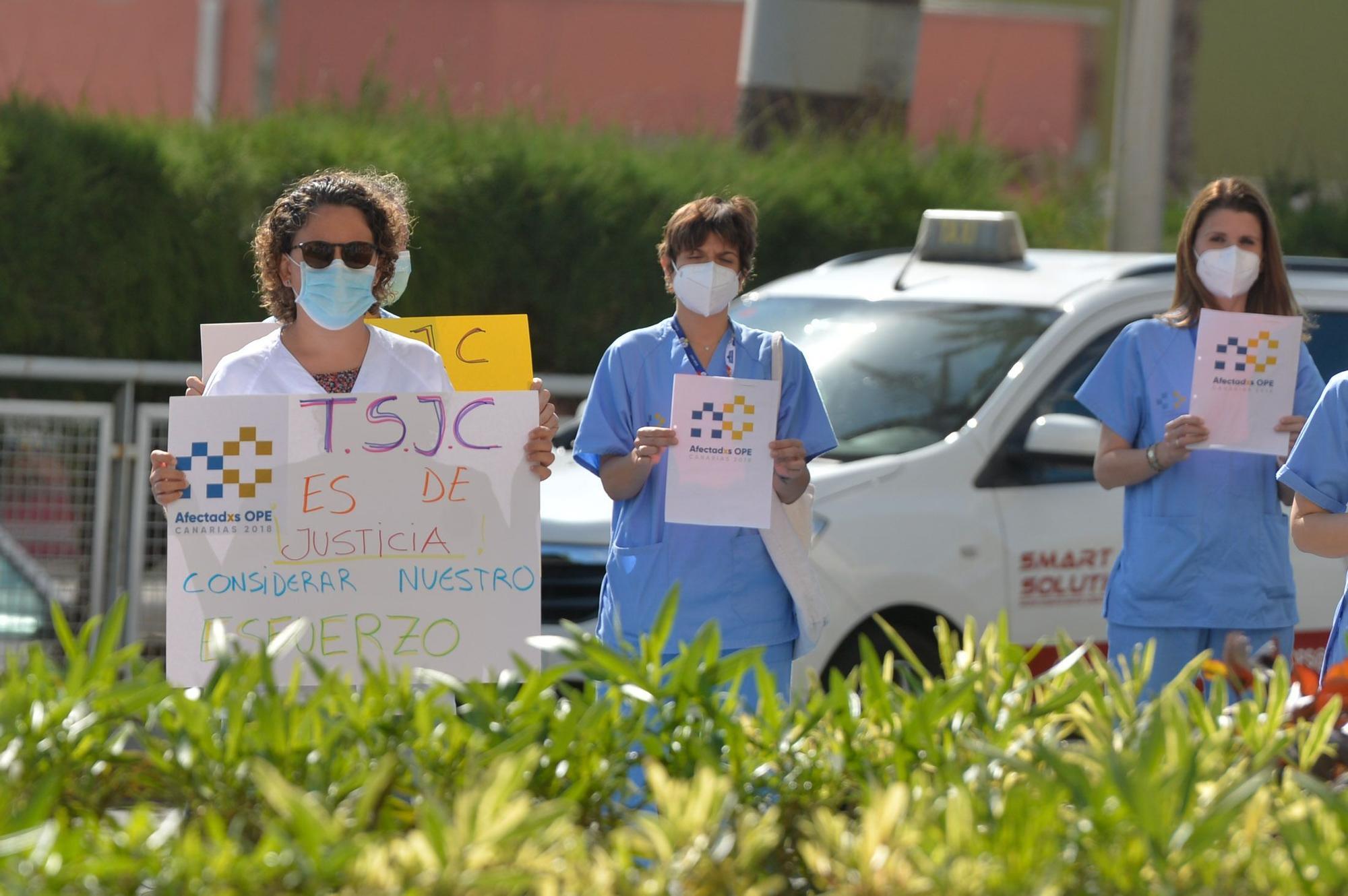 La ministra de Sanidad Carolina Darias visita el Hospital Universitario Insular de Gran Canaria