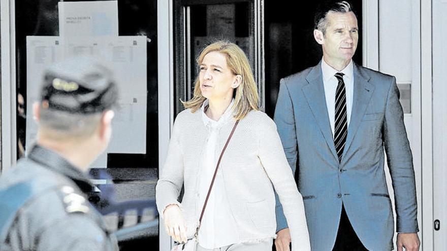 La Infanta Cristina podría estar preparando su divorcio de Iñaki Urdangarin