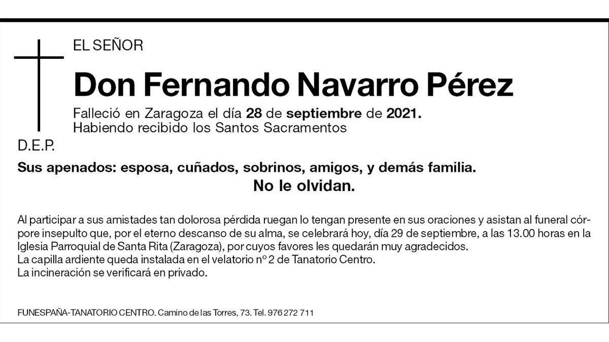 Fernando Navarro Pérez