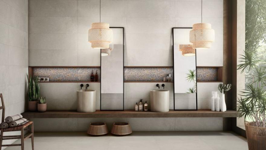 Saloni se inspira en el cemento para su nueva serie 'Blending'