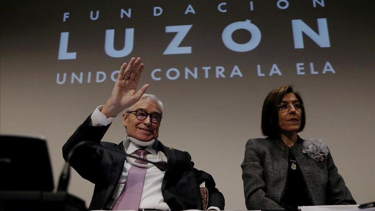 Muere Francisco Luzón, banquero y símbolo de la lucha contra la ELA