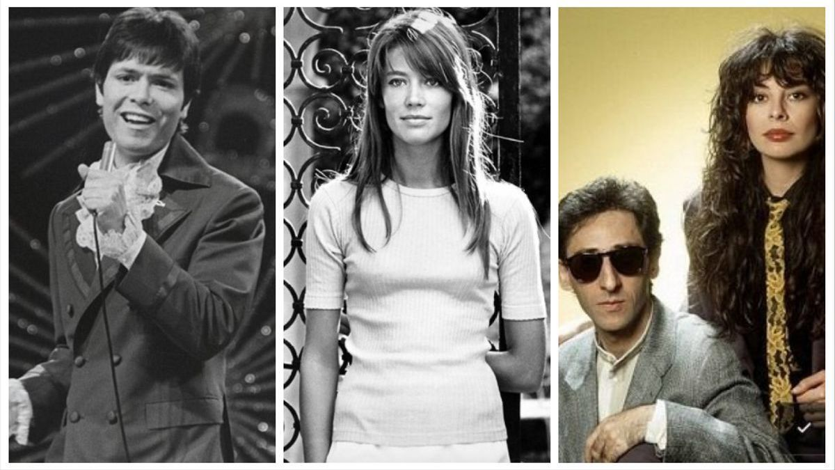Cliff Richard, Françoise Hardy and Franco Battiato & amp;  Alice