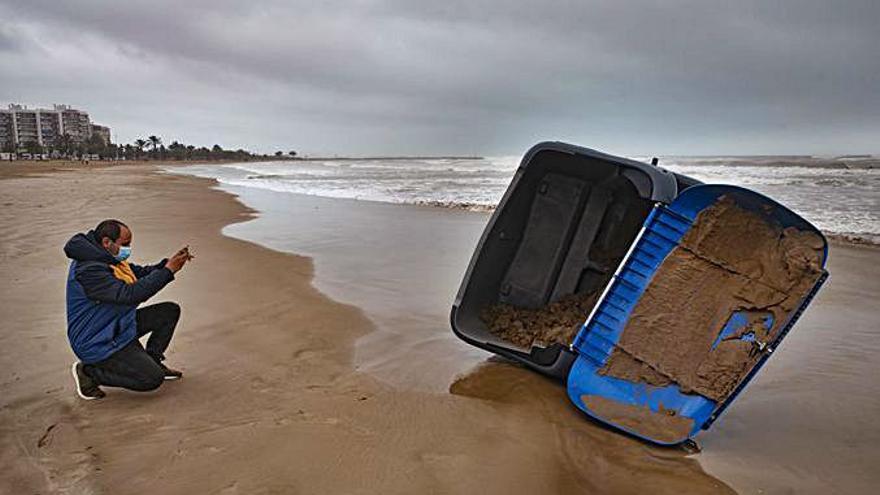 De daños que no se recordaban en el Port de Sagunt a 'tormenta' política