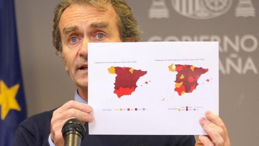 Sanidad notifica 10.127 nuevos  casos de contagio y 254 fallecidos