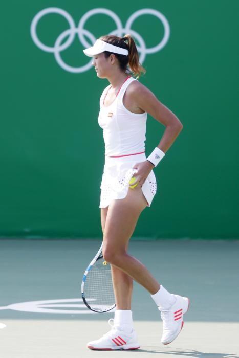 Garbiñe Muguruza quedó eliminada en octavos, cuando partía como una de las candidatas.