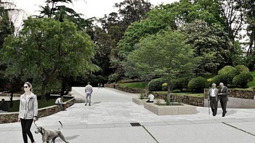 Urbanismo diseña una mejor conexión del entorno de Santa Margarita con el parque