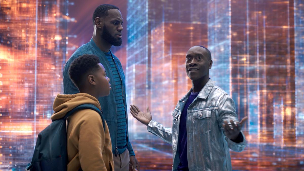 LeBron James protagoniza 'Space Jam: Nuevas leyendas'