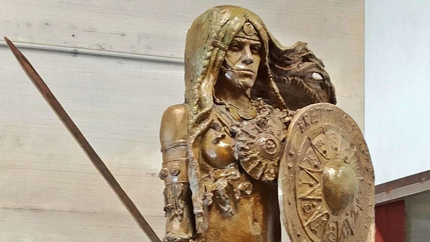 Eva Riquelme exporta a Italia una nueva escultura