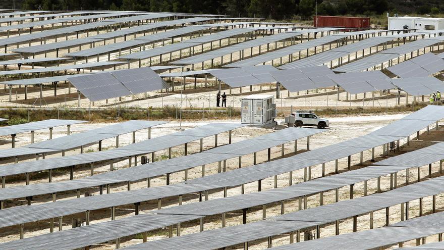 El Consell propone instalar parques fotovoltaicos en 5.000 hectáreas de suelo rústico de la provincia