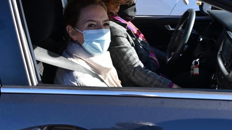 Mallada, una manifestante más en la caravana