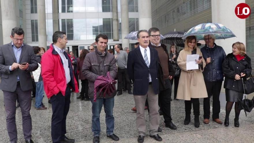 La huelga de jueces y fiscales obliga a suspender 304 juicios en la Región