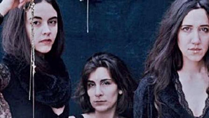 El trio Marala obri hui el Potries Music Fest