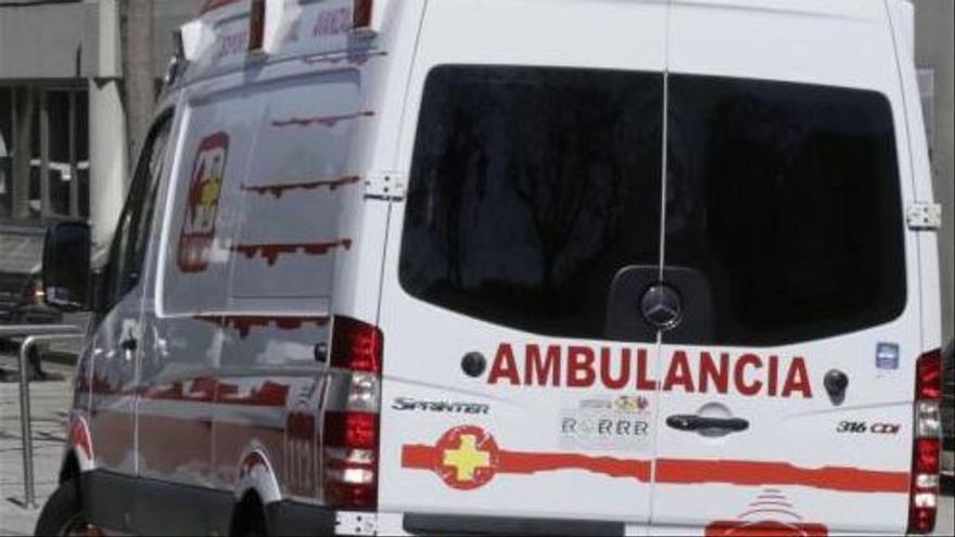 Fallece un hombre en un accidente de tráfico a la salida de Infiesto, en Piloña