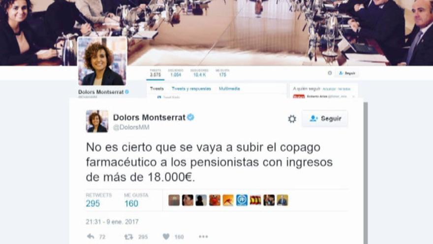 Montserrat deja en manos de expertos el copago farmacéutico