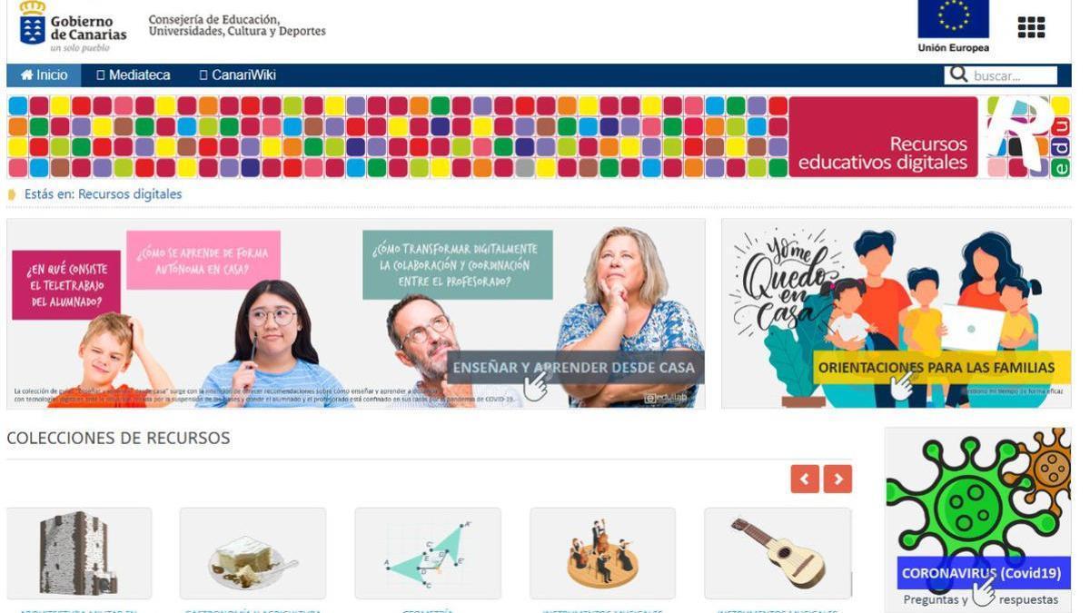 Recursos digitales de Educación