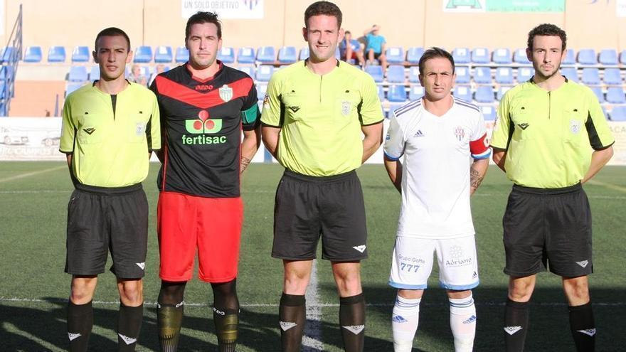 Orellana Cid, árbitro del partido entre la Balompédica Linense y el Córdoba CF