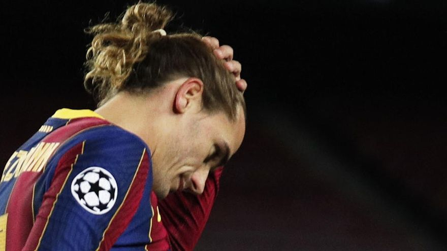 """Antoine Griezmann: """"La culpa es de los jugadores"""""""