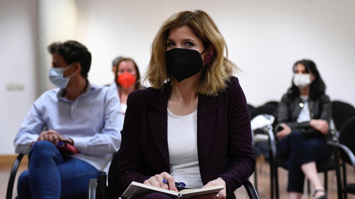 La número dos en la lista del PSOE a la Comunidad de Madrid, Hana Jalloul.