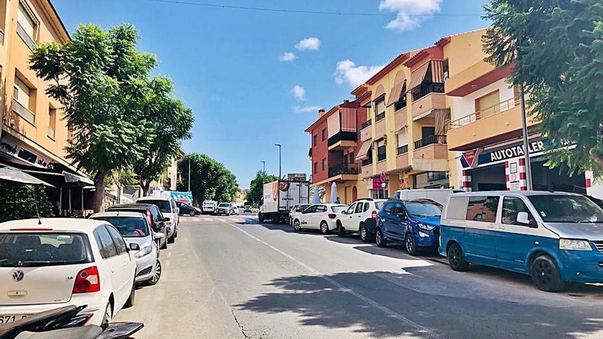 Finestrat inicia el lunes las obras para renovar su avenida principal
