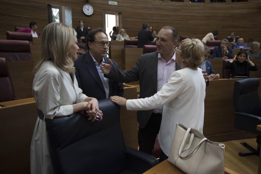 Segunda sesión del pleno de investidura de Puig